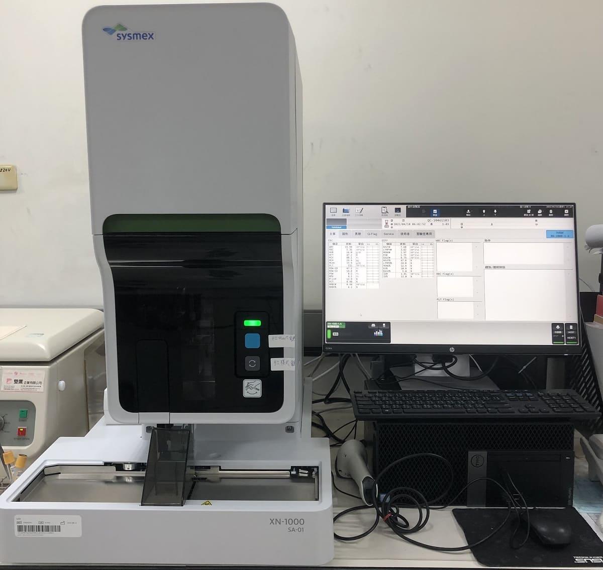 看大圖:SYSMEX XT-1800i全自動血液分析儀(另開新視窗)